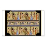 Egyptian Hieroglyphics Sticker (Rectangle)