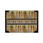 Egyptian Hieroglyphics Rectangle Magnet
