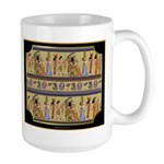 Egyptian Hieroglyphics Large Mug