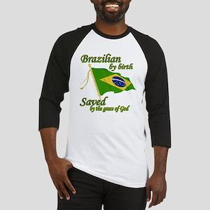 Brazilian by birth Baseball Jersey