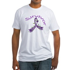 Fibromyalgia Floral Survivor Shirt