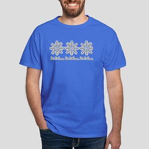 'Let It Snow' Dark T-Shirt