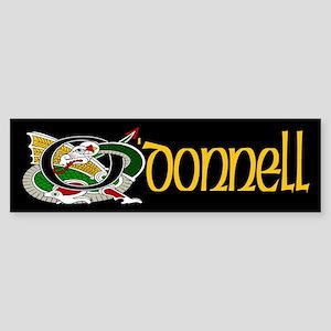 O'Donnell Celtic Dragon Bumper Sticker