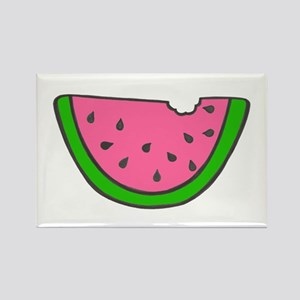 'Colorful Watermelon' Rectangle Magnet