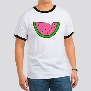 'Colorful Watermelon' Ringer T