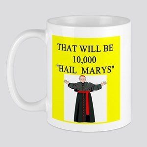 catholic joke Mug