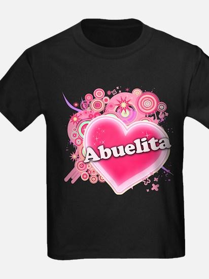 Abuelita Heart Art T