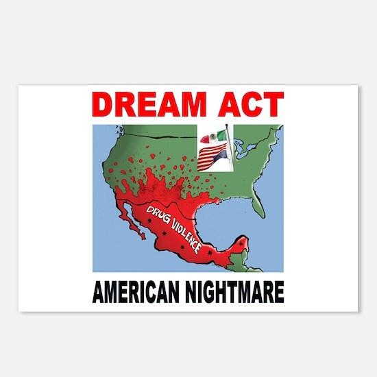 AMERICA'S NIGHTMARE Postcards (Package of 8)
