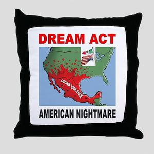 AMERICA'S NIGHTMARE Throw Pillow