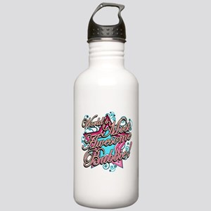 Worlds Best Bubbie Stainless Water Bottle 1.0L