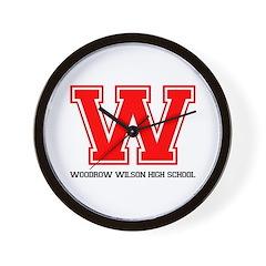 Woodrow Wilson Wall Clock