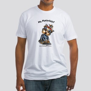 Yorkie Manipulate Fitted T-Shirt