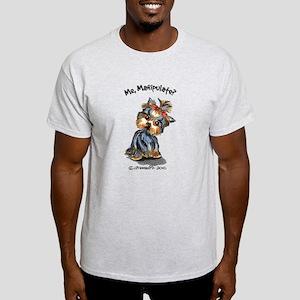 Yorkie Manipulate Light T-Shirt