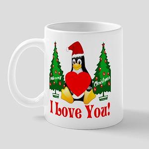 Christmas Teddy Bear Mug