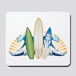 Surfboards Mousepad