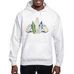 Surfboards Hooded Sweatshirt