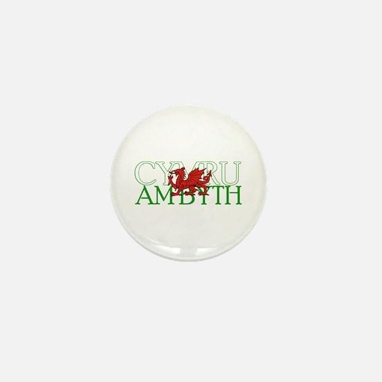 Cymru Am Byth Mini Button