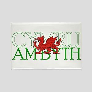 Cymru Am Byth Rectangle Magnet