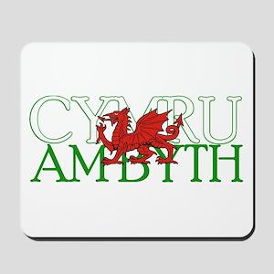 Cymru Am Byth Mousepad
