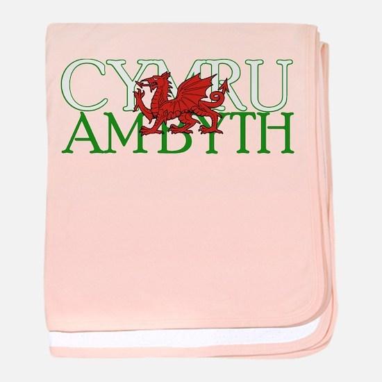 Cymru Am Byth baby blanket