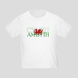 Cymru Am Byth Toddler T-Shirt
