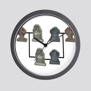 Geneology Research Wall Clock