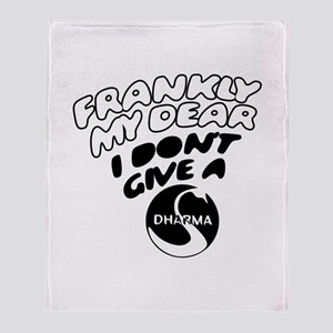 Don't Give a Dharma Throw Blanket