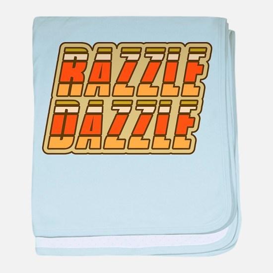 Razzle Dazzle baby blanket
