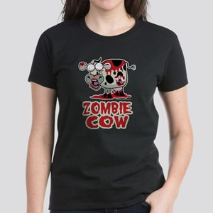Zombie Cow Women's Dark T-Shirt