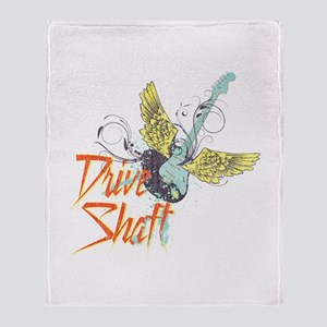 Rock Drive Shaft Throw Blanket