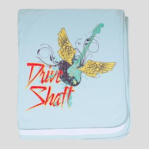 Rock Drive Shaft baby blanket