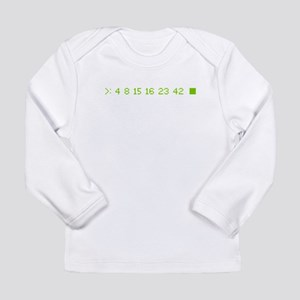 4 8 15 16 23 42 Long Sleeve Infant T-Shirt