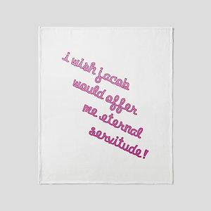 Jacob Eternal Servitude Throw Blanket