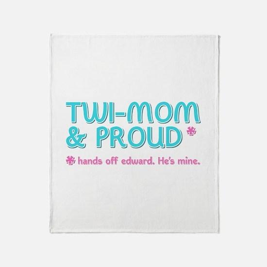 Twi-Mom for Edward Throw Blanket