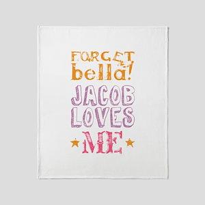 Jacob Loves Me Throw Blanket