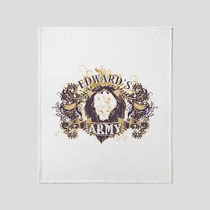 Edward's Army Throw Blanket