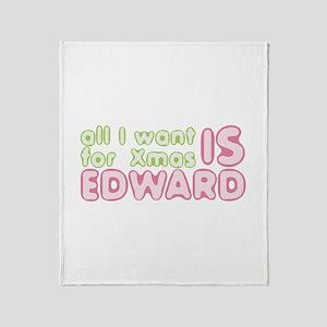 Xmas Edward Throw Blanket