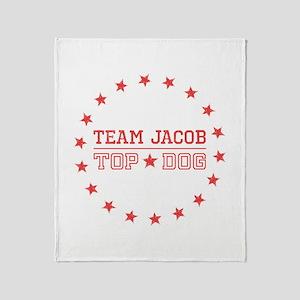 Team Jacob Top Dog Throw Blanket