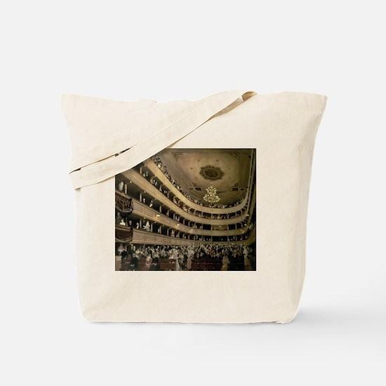 Cute Concert hall Tote Bag