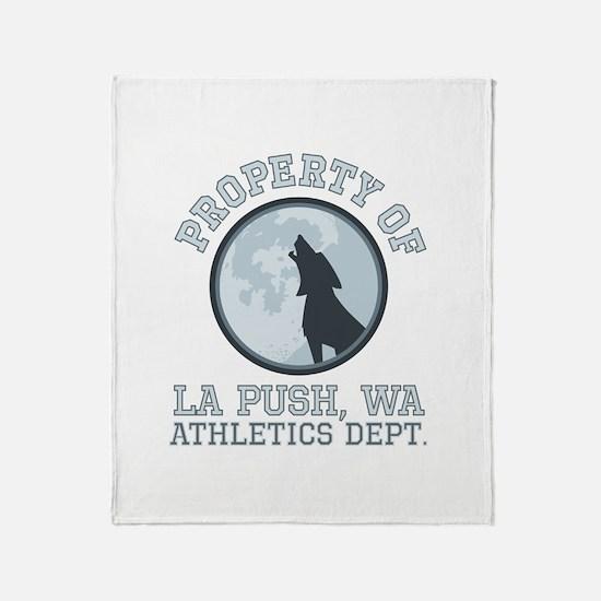 La Push Athletics Throw Blanket