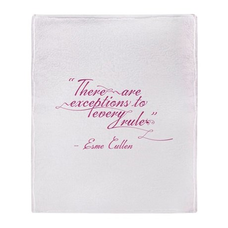 Esme Exceptions Throw Blanket