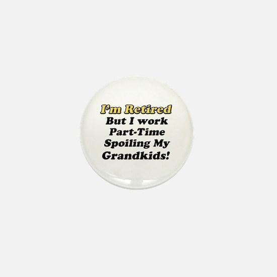 Unique Retirement party Mini Button