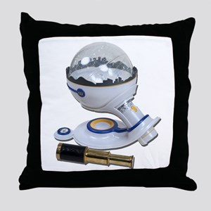 Home Planetarium Throw Pillow