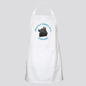Proudly Owned Schipperke Apron