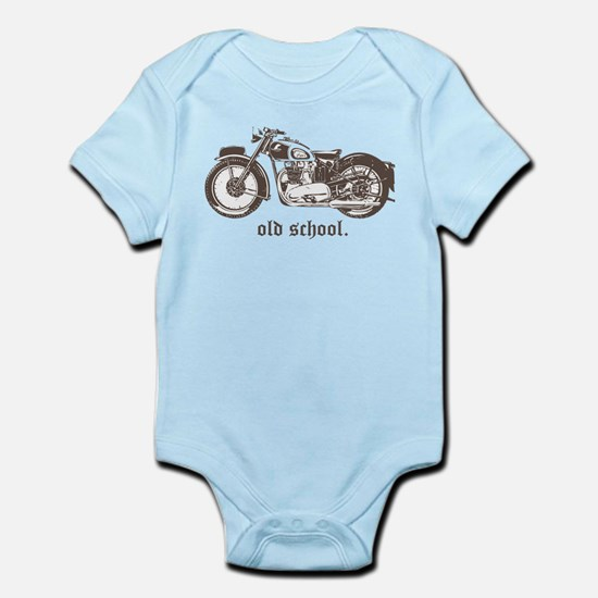 OLD SCHOOL TRIUMPH 500 Infant Bodysuit