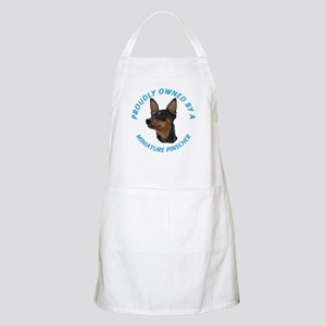 Proudly Owned Min Pin Apron