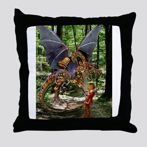 The Jabberwocky Throw Pillow