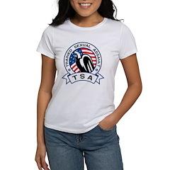 TSA Trained Sexual Assault Women's T-Shirt