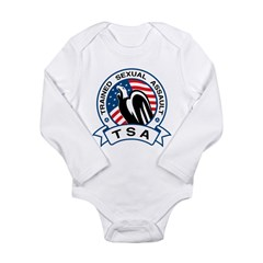 TSA Trained Sexual Assault Long Sleeve Infant Body