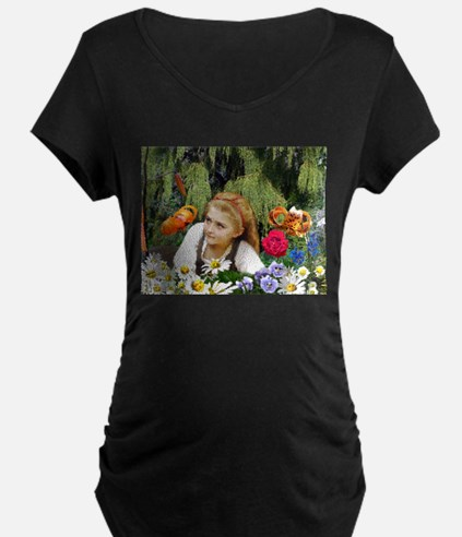 In The Garden Of Live Flowers T-Shirt